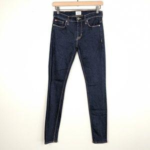 Hudson Jeans Nico Mid Rise Dark Wash Super Skinny